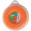 "BRUSH CUTTER TRIMMER DIAMOND EDGE 1LB DONUT - ORANGE - SIZE (0.130"")"