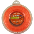 "BRUSH CUTTER TRIMMER CYCLONE 1/2LB DONUT - ORANGE - SIZE (0.095"")"